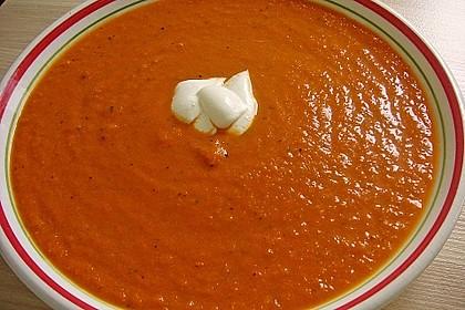 Karotten - Tomaten - Suppe 3