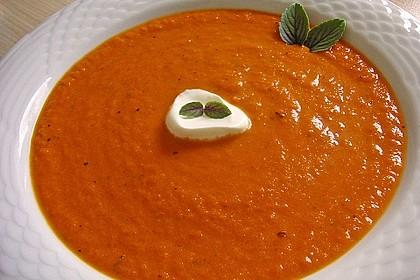 Karotten - Tomaten - Suppe