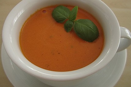 Karotten - Tomaten - Suppe 8