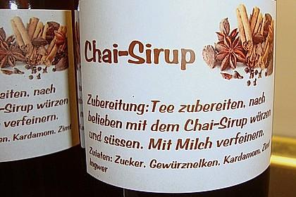 Chai - Sirup 8