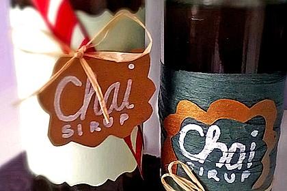 Chai - Sirup 4