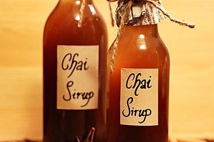Chai - Sirup 9