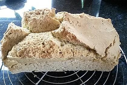 Glutenfreies und laktosefreies Brot 1