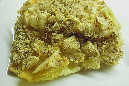 Quark - Lasagne mit Apfelmus 4