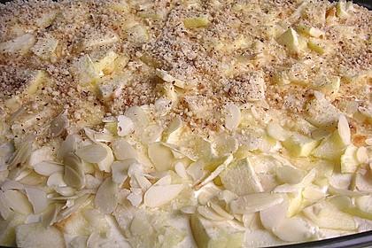 Quark - Lasagne mit Apfelmus 2
