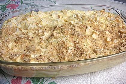 Quark - Lasagne mit Apfelmus 1