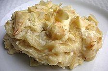 Quark - Lasagne mit Apfelmus