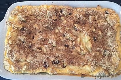 Quark - Lasagne mit Apfelmus 3