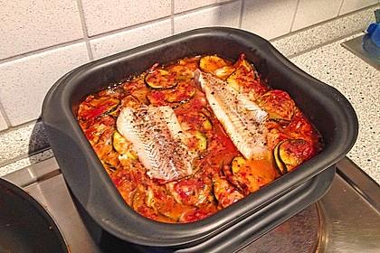 1a Lachs mit Zucchini und Tomaten 7