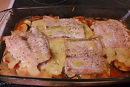 1a Lachs mit Zucchini und Tomaten 20