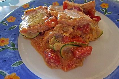 1a Lachs mit Zucchini und Tomaten 17