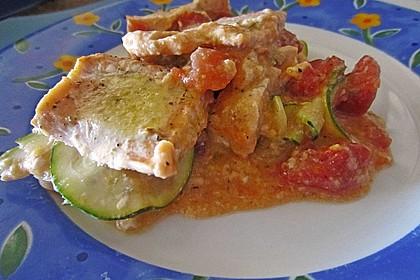1a Lachs mit Zucchini und Tomaten 14