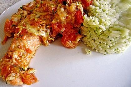 1a Lachs mit Zucchini und Tomaten 9