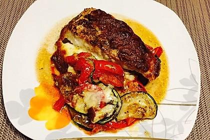 1a Lachs mit Zucchini und Tomaten 6