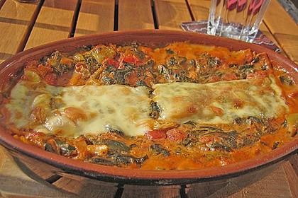 Grüne Lasagne 1
