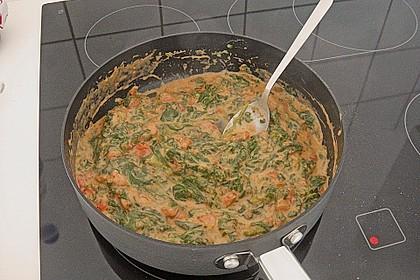 Grüne Lasagne 6