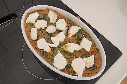 Grüne Lasagne 8