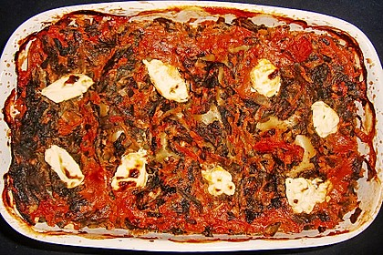 Grüne Lasagne 9