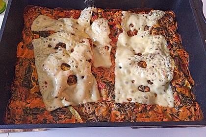 Grüne Lasagne 5