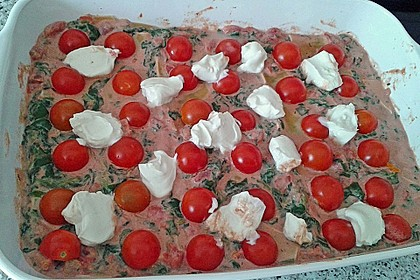 Grüne Lasagne 2