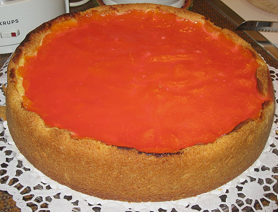 Mandarinen   Schmand   Torte 1