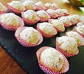 Kokosbällchen aus Biskuit