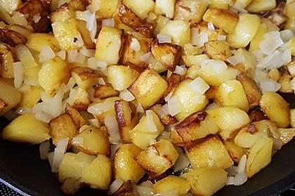 Knusprige Bratkartoffeln nach Muttis Rezept