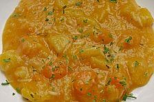 Gebundene Kartoffelsuppe