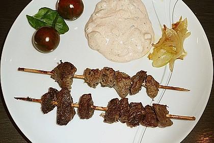 Lamm-Kebabs mit Kräutern