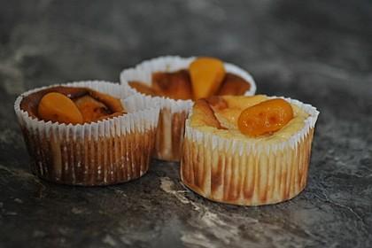 Käsekuchen-Muffins 8