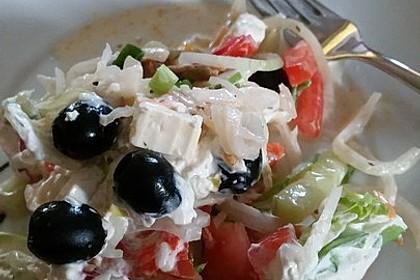 Uschis griechischer Schichtsalat 2