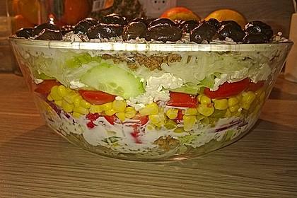 Uschis griechischer Schichtsalat 5