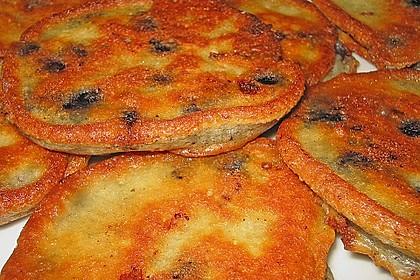 Buttermilch - Pfannkuchen mit Blaubeeren 1