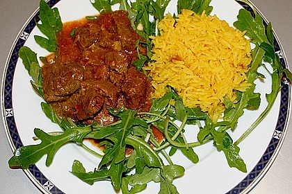 Rindfleisch-Curry