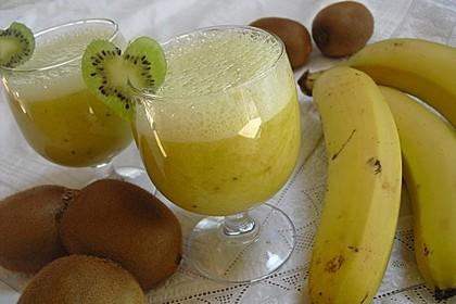 Banane - Kiwi Smoothie 9