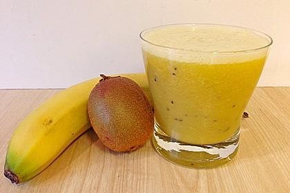 Banane - Kiwi Smoothie 12