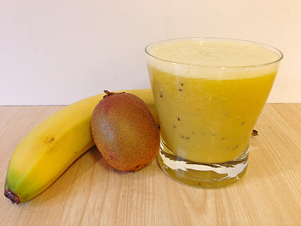 banane kiwi smoothie rezept mit bild von kerstin671. Black Bedroom Furniture Sets. Home Design Ideas