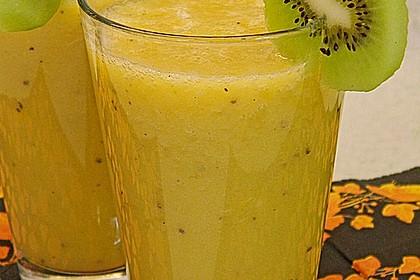 Banane - Kiwi Smoothie 7