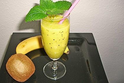 Banane - Kiwi Smoothie 11