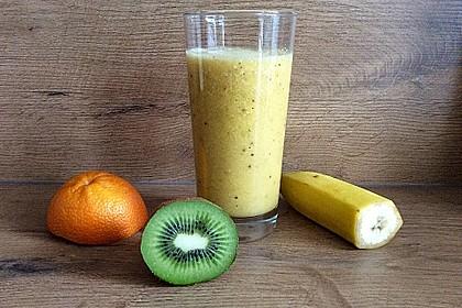 Banane - Kiwi Smoothie 1