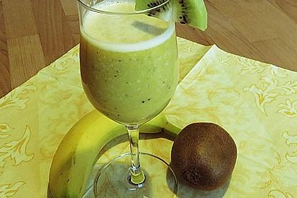 Banane - Kiwi Smoothie 19