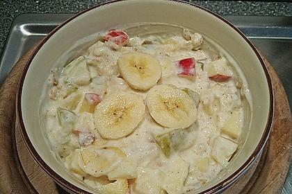 Fruchtiger Joghurt mit Haferflocken 2