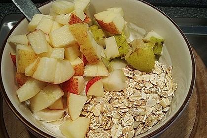 Fruchtiger Joghurt mit Haferflocken 0