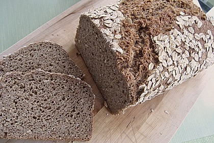 Saftiges Vollkornbrot 52
