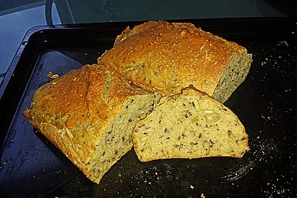 Saftiges Vollkornbrot 140