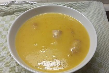 Kartoffelrahmsuppe