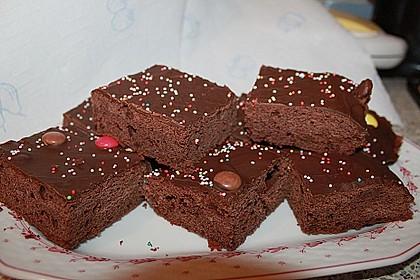 Leckerer schokoladenkuchen blech