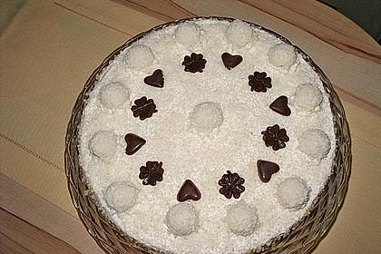 Pfirsich - Raffaello - Torte 7