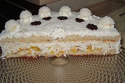 Pfirsich - Raffaello - Torte 11