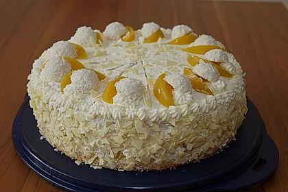 Pfirsich - Raffaello - Torte 2